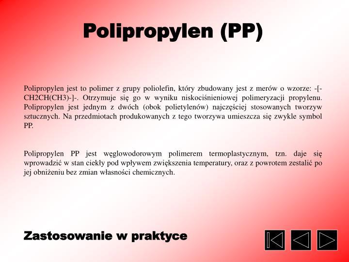 Polipropylen (PP)