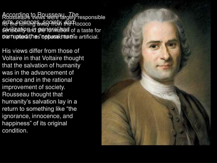 According to Rousseau,