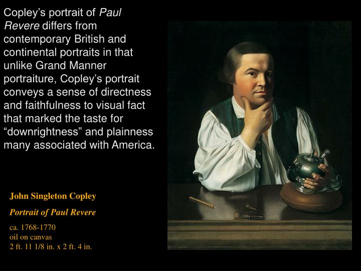 Copley's portrait of