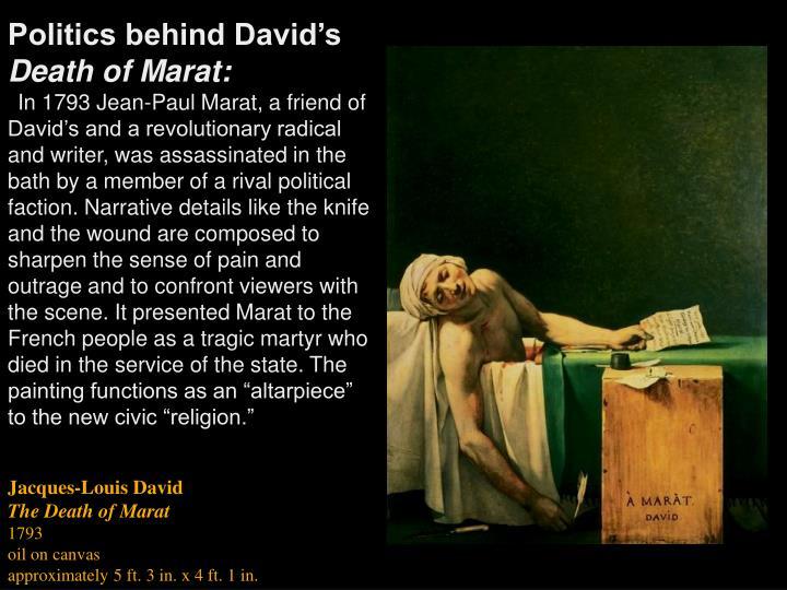 Politics behind David's