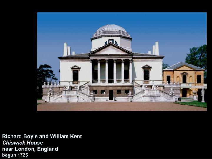 Richard Boyle and William Kent