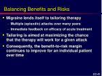 balancing benefits and risks