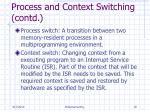 process and context switching contd1