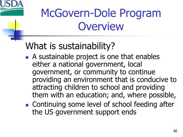 McGovern-Dole Program