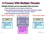 a process with multiple threads