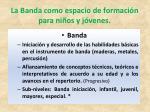la banda como espacio de formaci n para ni os y j venes1