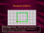 position relative