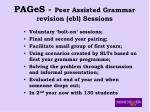 pages peer assisted grammar revision ebl sessions