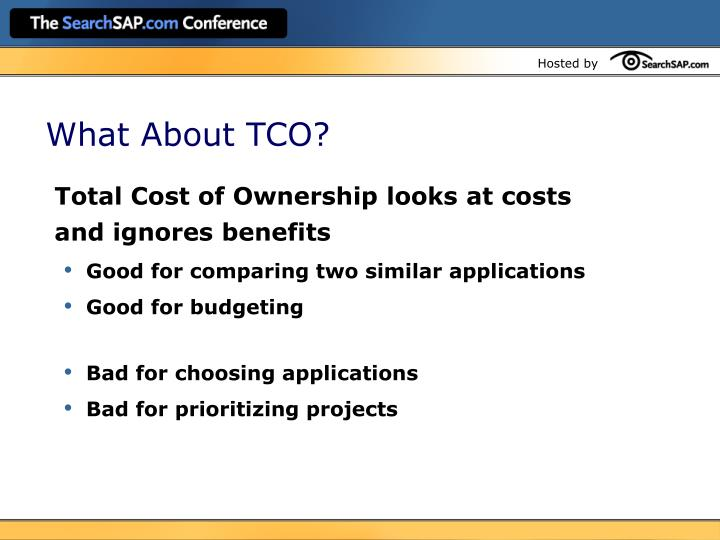 What About TCO?