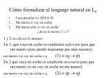 c mo formalizar el lenguaje natural en l 018