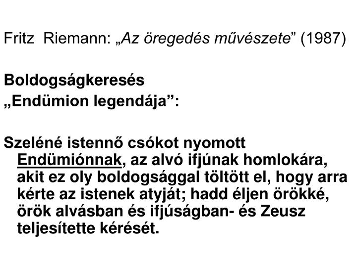 """Fritz  Riemann: """""""