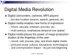 digital media revolution