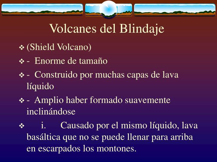 Volcanes del Blindaje