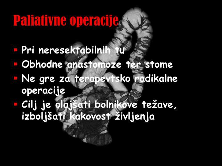 Paliativne operacije