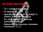 resekcija transverzuma