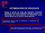 optimizaci n de procesos1