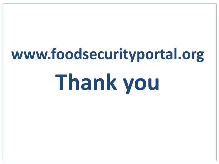 www.foodsecurityportal.org