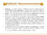 bellsouth telecommunications