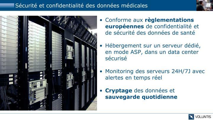 Sécurité et confidentialité des données médicales