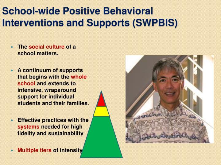 School-wide Positive Behavioral