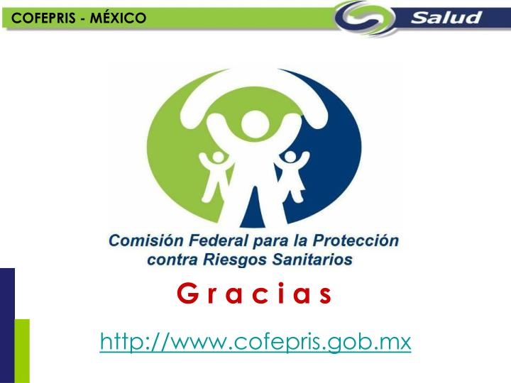COFEPRIS - MÉXICO