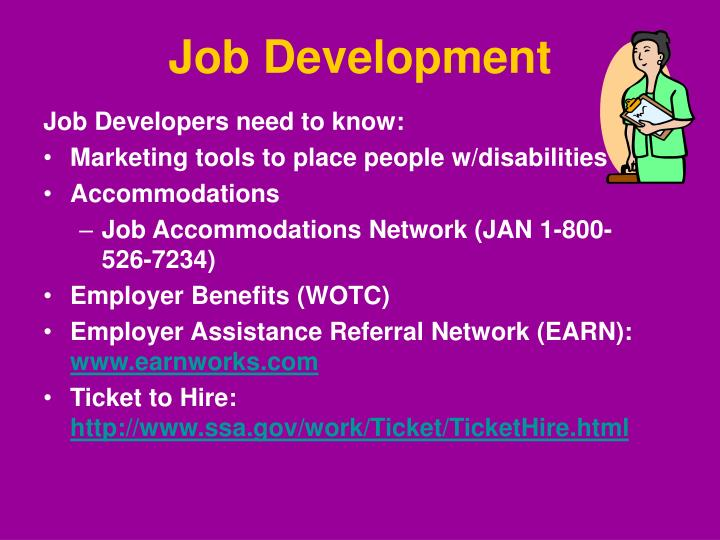 Job Development