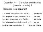 question n 1 combien de s ismes dans le monde