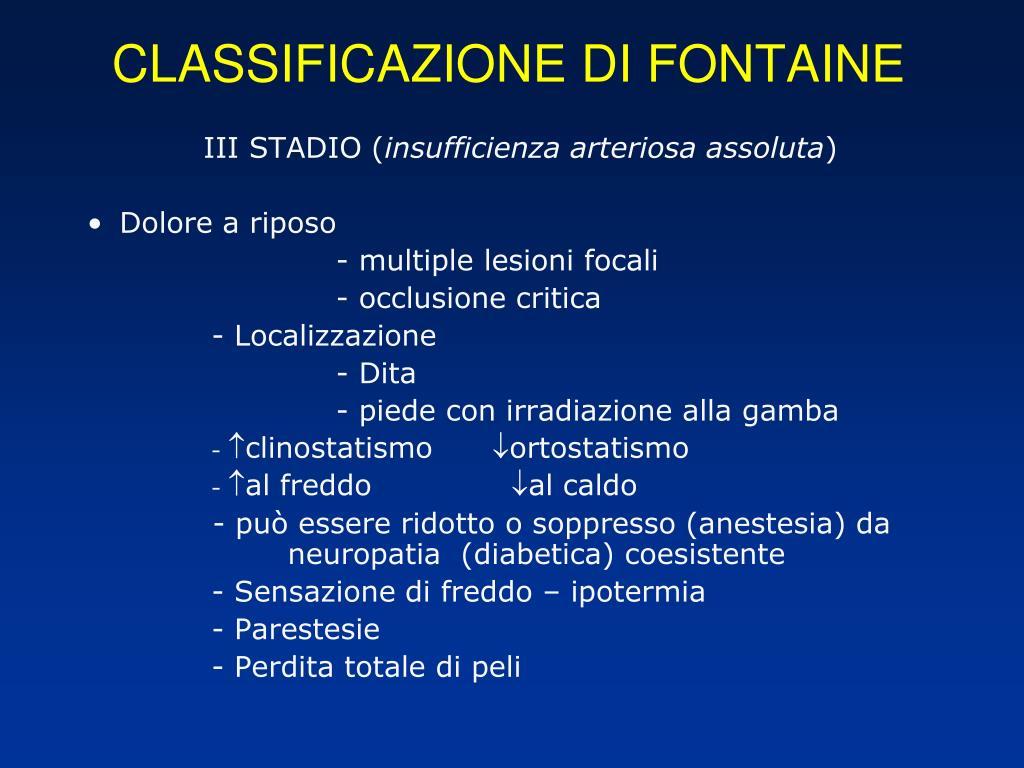PPT - Arteriopatia periferica PowerPoint Presentation..