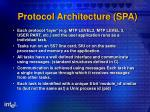protocol architecture spa