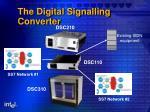 the digital signalling converter