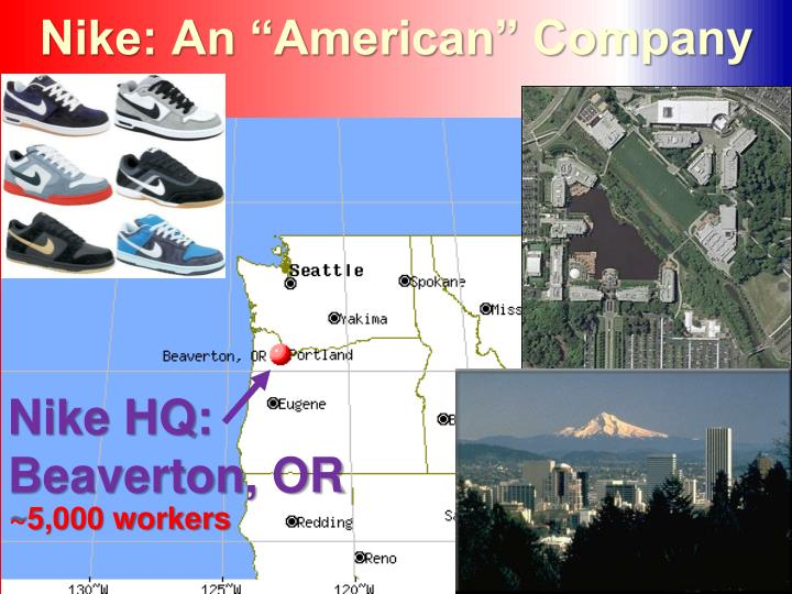 "Nike: An ""American"" Company"