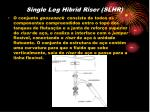 single leg hibrid riser slhr1