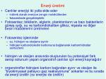 enerji retimi