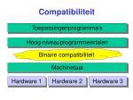 compatibiliteit