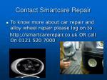 contact smartcare repair