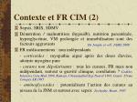 contexte et fr cim 21