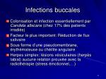 infections buccales