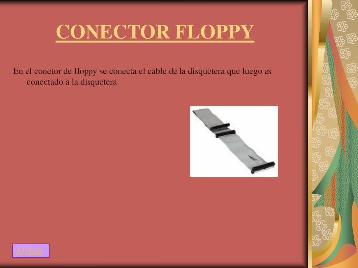 CONECTOR FLOPPY