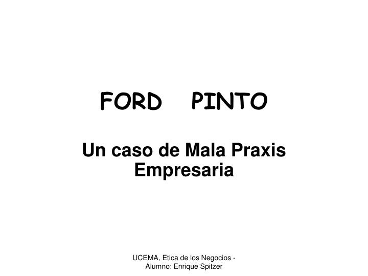 ford pinto n.
