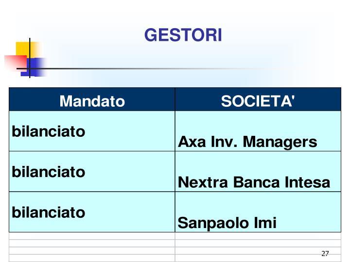 GESTORI