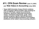 11 cpa exam review june 14 2003 and web videos in accounting july 2003