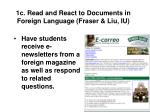 1c read and react to documents in foreign language fraser liu iu