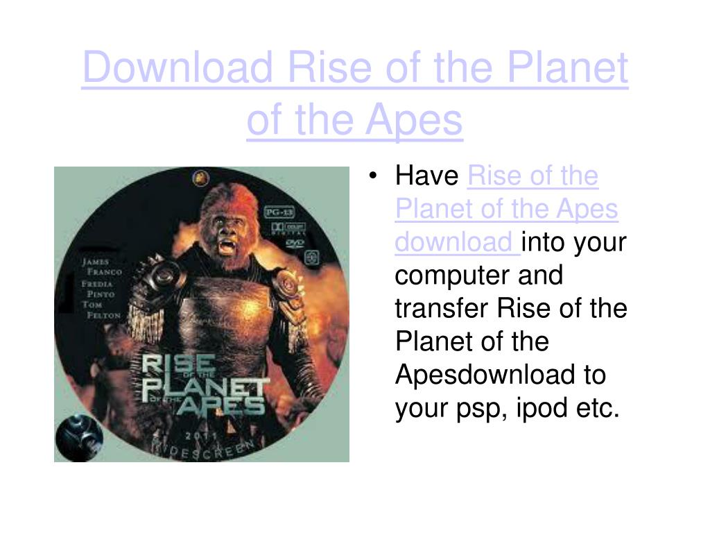 download rise of the planet of the apes l.