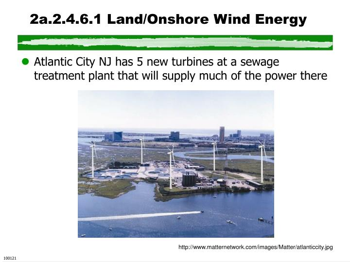 2a.2.4.6.1 Land/Onshore Wind Energy