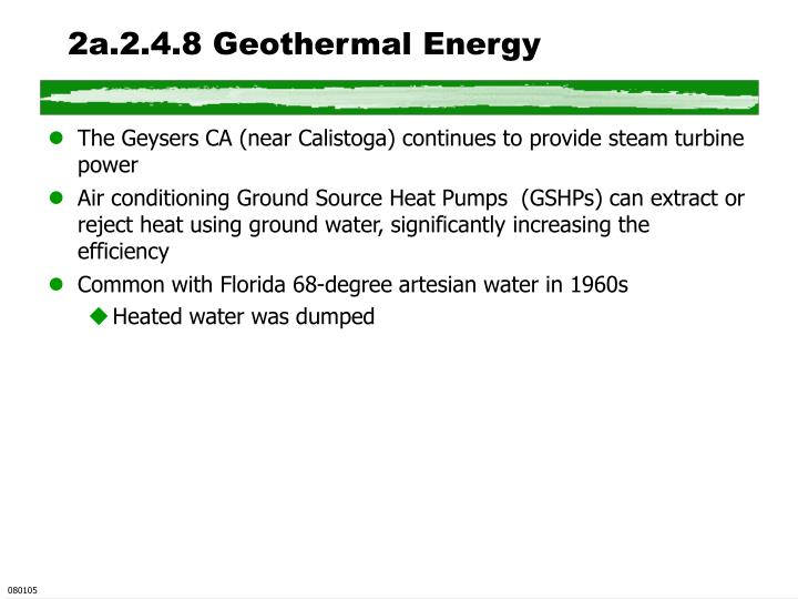 2a.2.4.8 Geothermal Energy