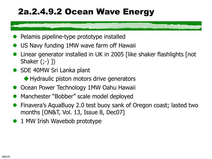 2a.2.4.9.2 Ocean Wave Energy