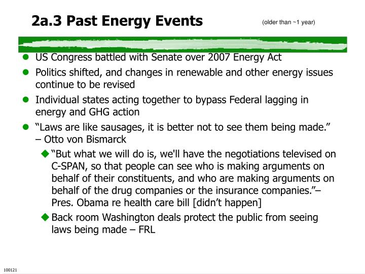 2a.3 Past Energy Events