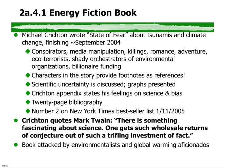 2a.4.1 Energy Fiction Book