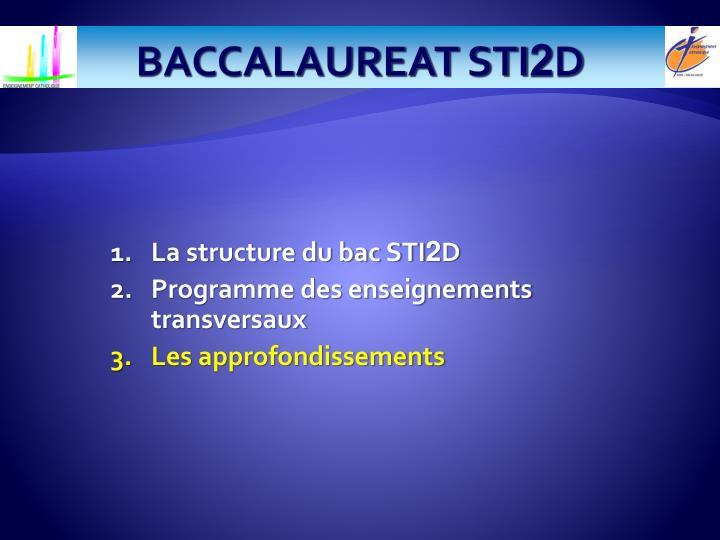 BACCALAUREAT STI