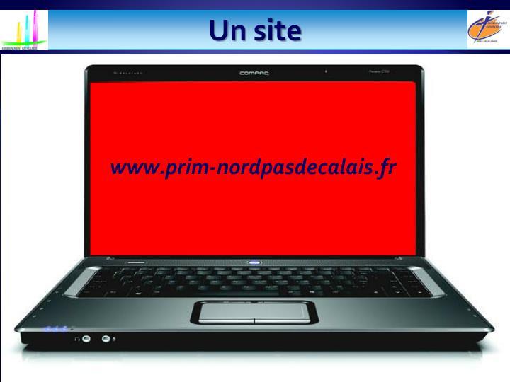 Un site